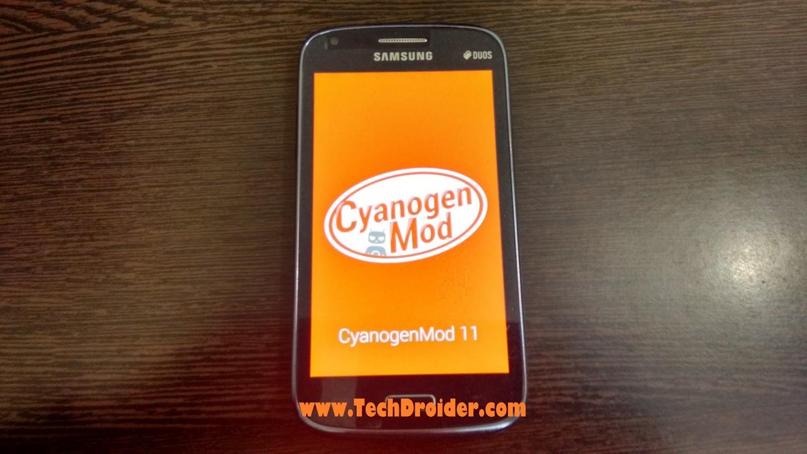 Cyanogenmod 11 galaxy core