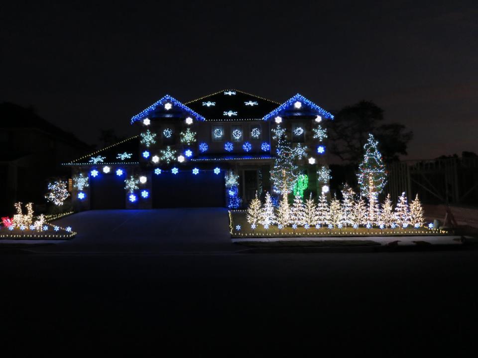 Light Christmas Show Gangnam Style