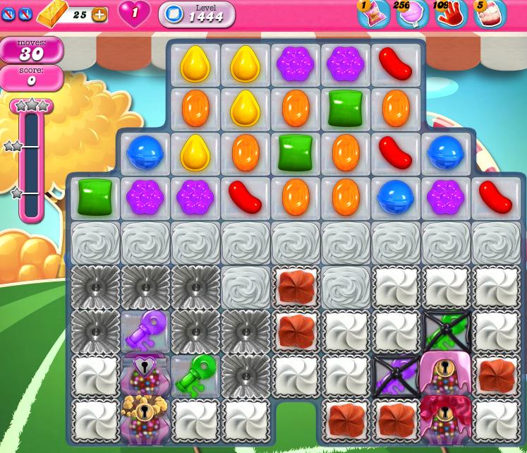 Candy Crush Saga 1444