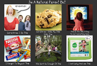 Natural parenting does not equal perfect parenting