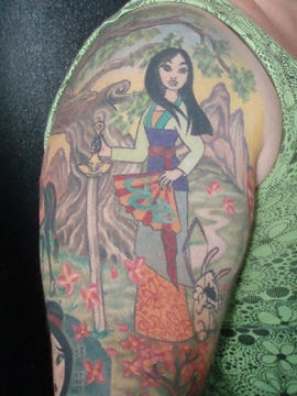 Mulan Disney Tattoo