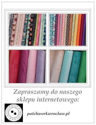 Nowy e-sklep z tkaninami do patchworku :)