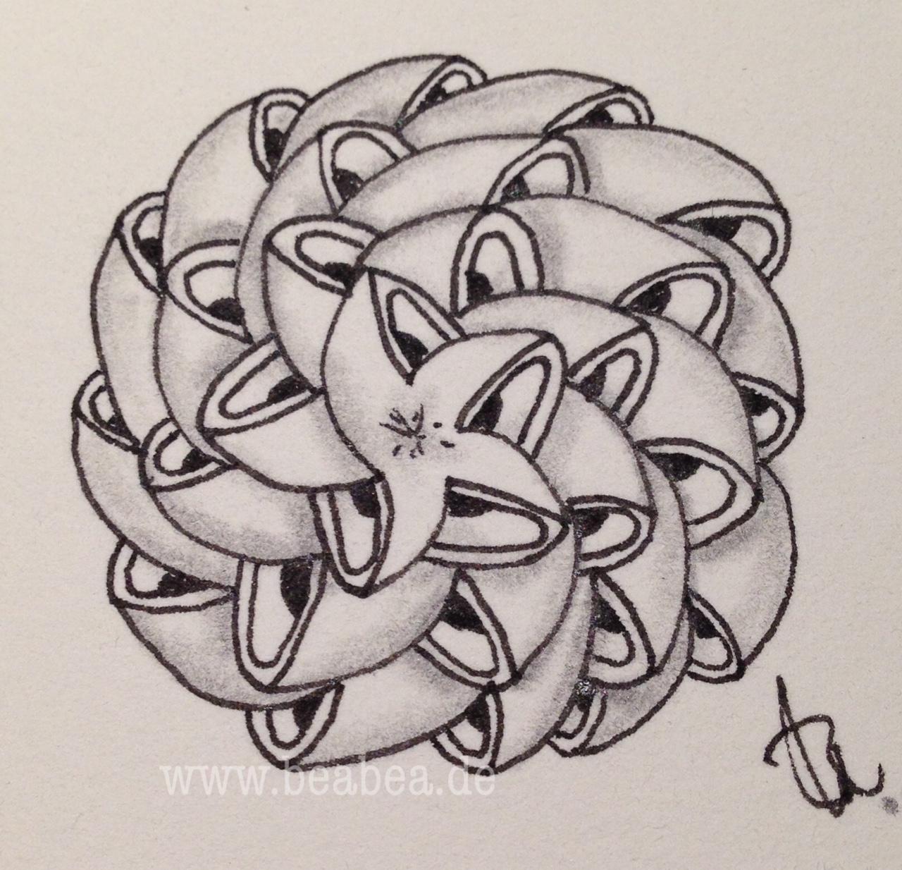 meine tangles zentangle muster designer beate winkler czt - Zentangle Muster