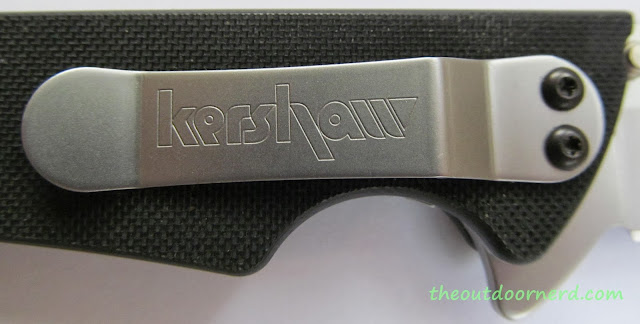 Kershaw Skyline Pocket Knife - Closeup Of Clip 1