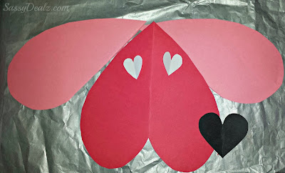 dog valentines day craft