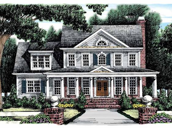 Dise os de casas planos gratis casas coloniales americanas for Disenos de casas americanas