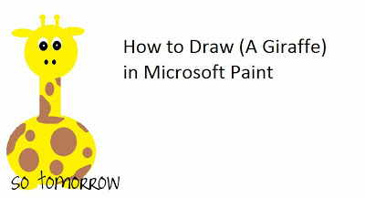 how to draw a roll in ms paint