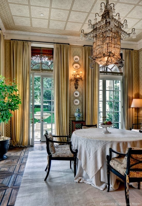 Chinoiserie chic pagoda chandeliers in dining rooms pagoda chandeliers in dining rooms aloadofball