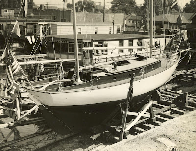 She was built by Kretzer Boat Works of City Island, New York.