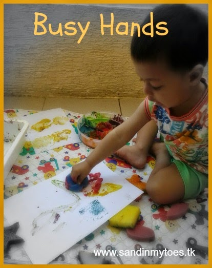 Busy Hands - Kids activities on Sand In My Toes