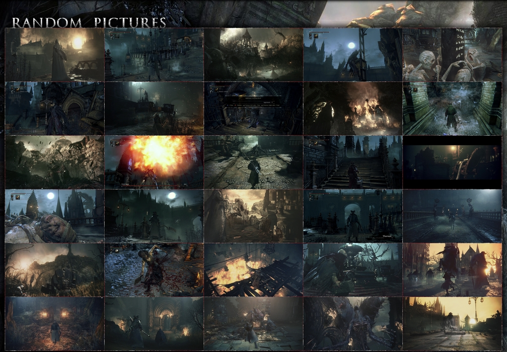 Bloodborne Random Pictures More