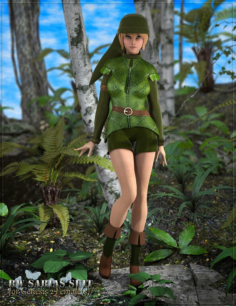 3d Models - RW Sarias Suit