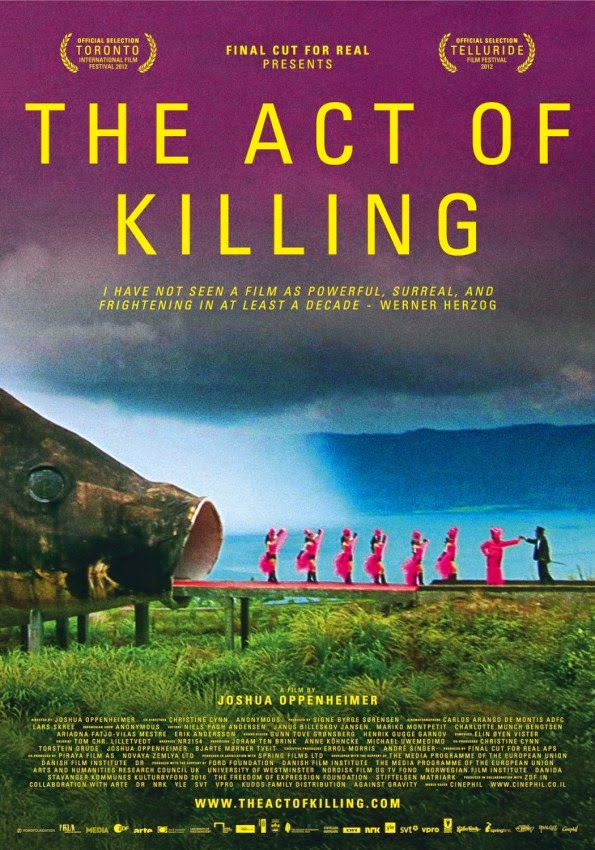 Afiche de The Act of Killing