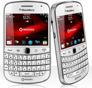 BlackBerry Bold 9900 and Curve 9360 White Color