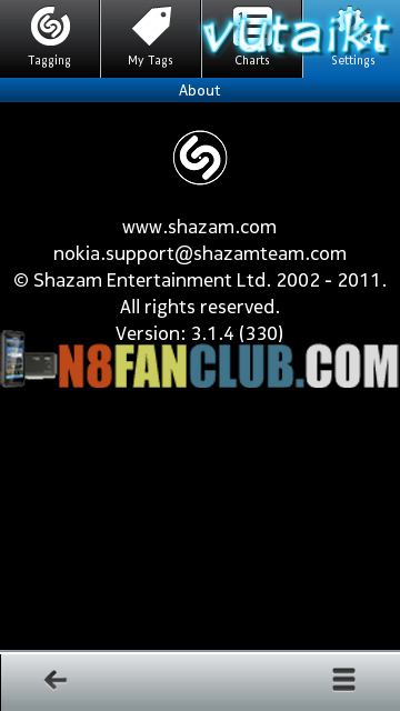 With Shazam you can discover and buy music tracks, find tour dates for tagg