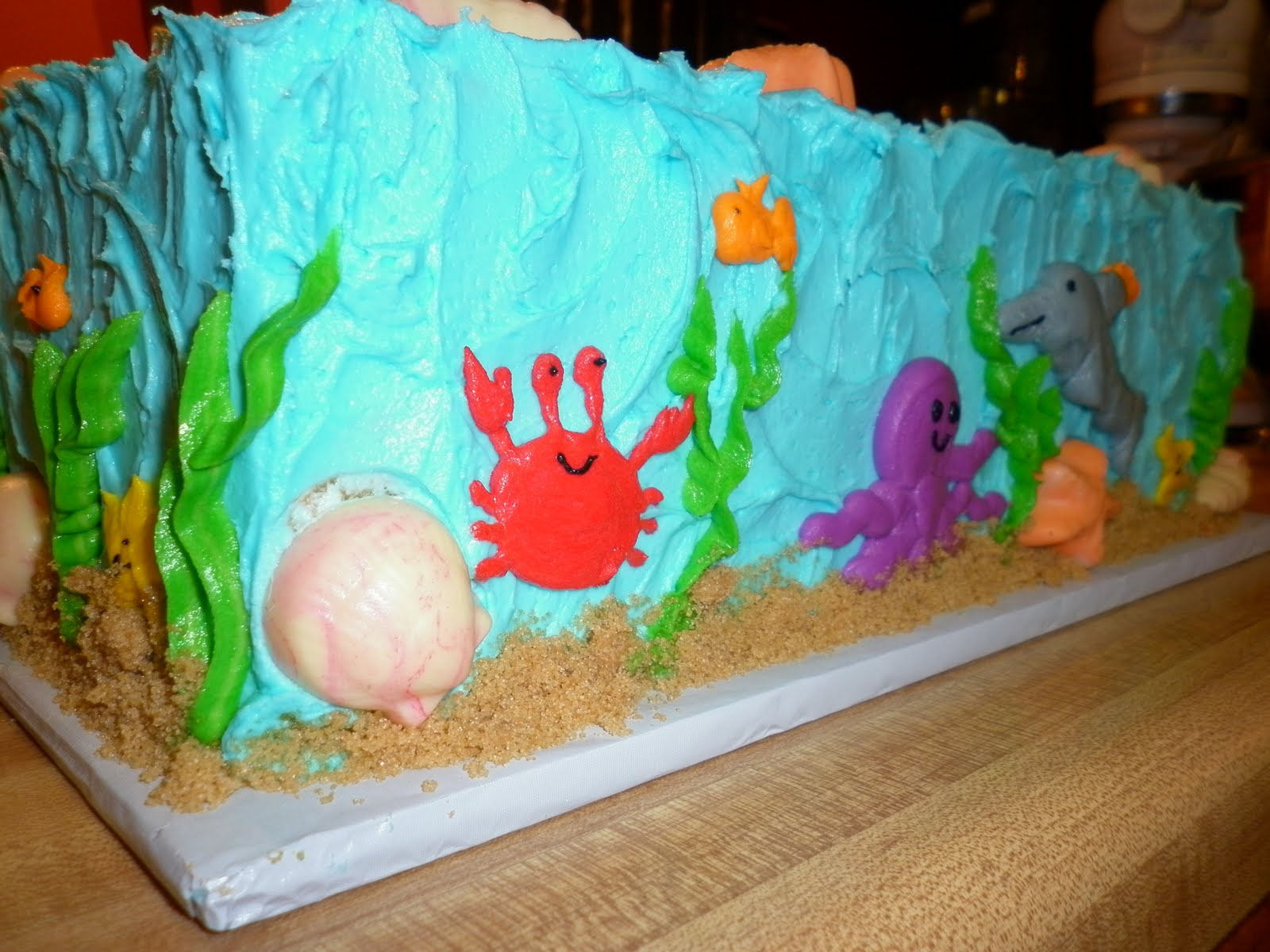 Tis So Sweet Cakes Under the Sea