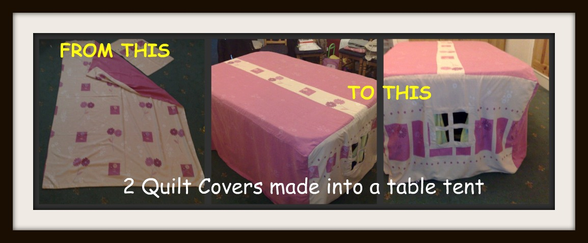 table tent upcycle & Karimau0027s Crafts: Table Tent For Kids