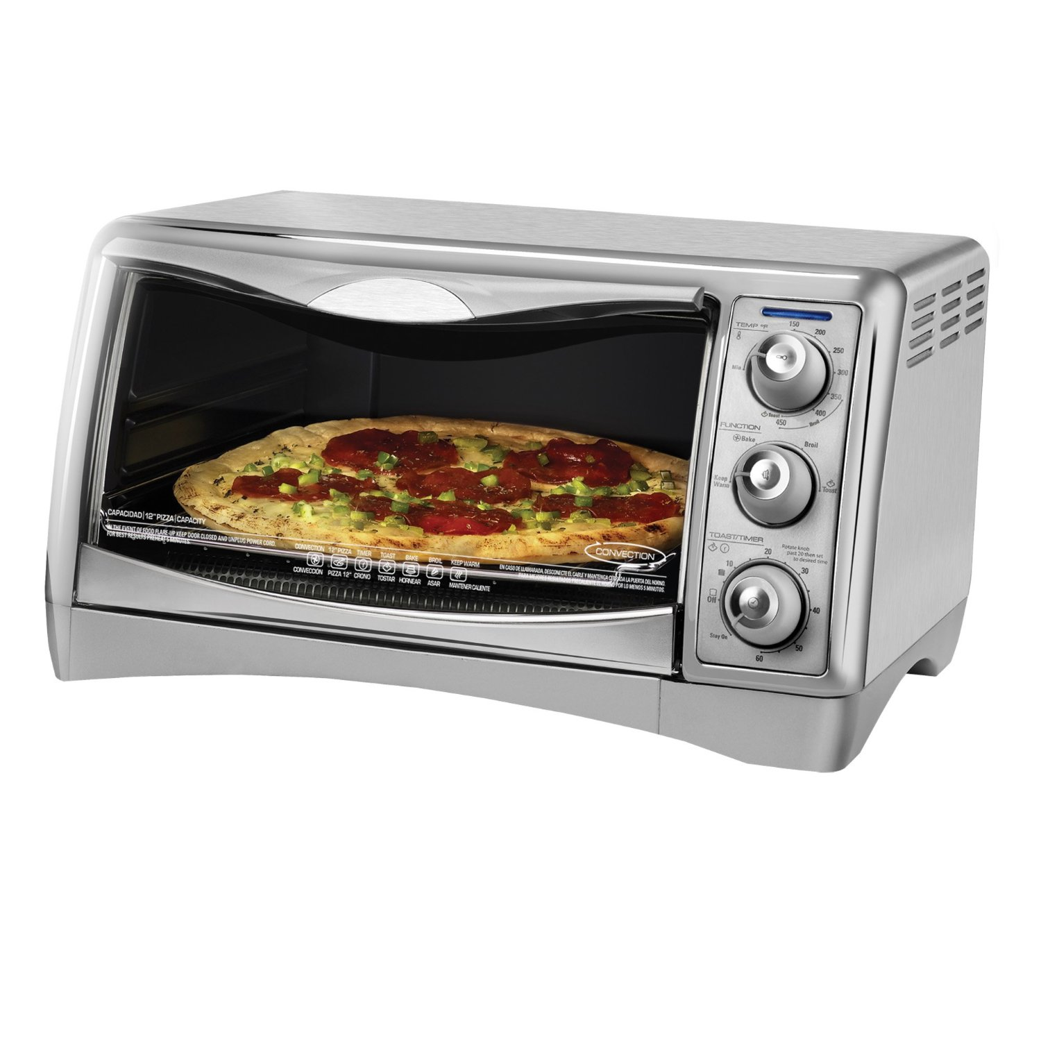 Best Countertop Convection Oven Toaster : ... packages: CTO4500S Counter Top Convection Oven by Black Decker