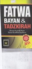fatwa bayan & tadzkirah pks rumah buku iqro buku dakwah toko buku online