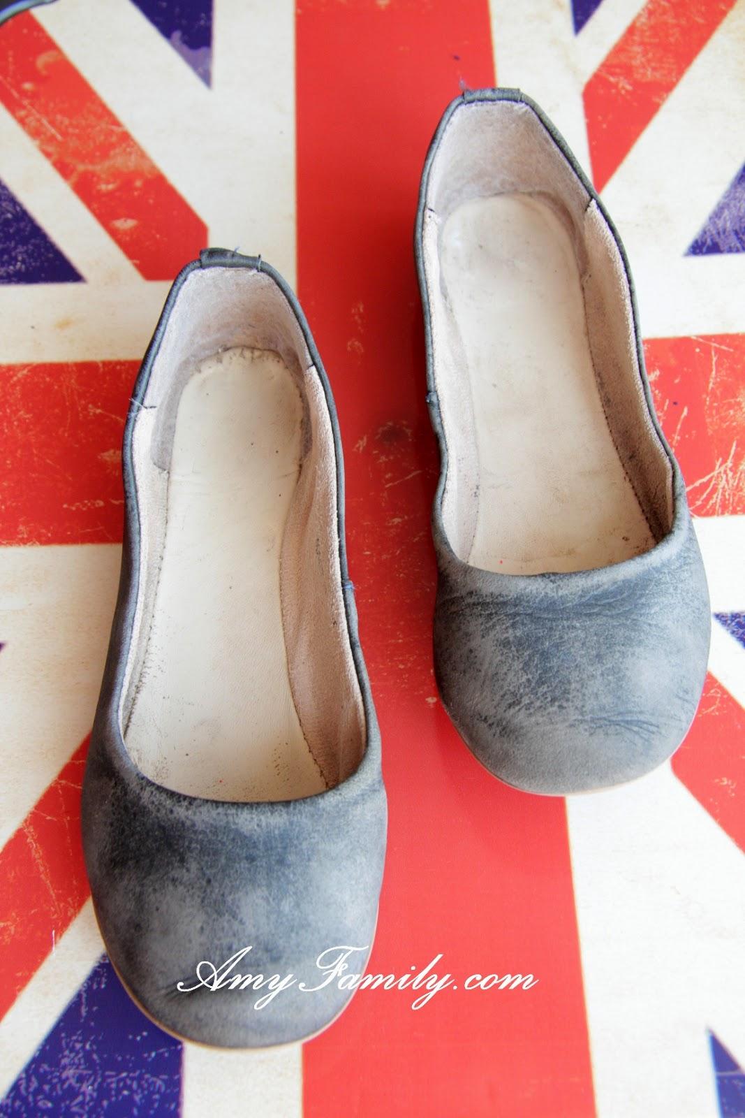 Как из старых туфель сделать новые