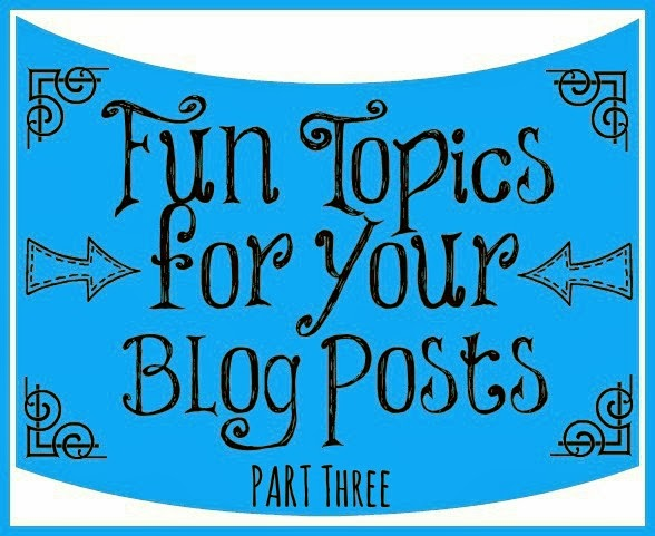 run jackabee blog topic idea series part iii inspired from pb fingers and little baby garvin the holiday right around the corner this is the perfect place to share some good ideas your
