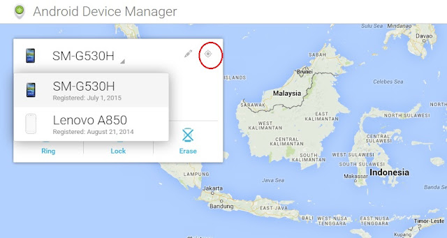 Gps Android Device manager