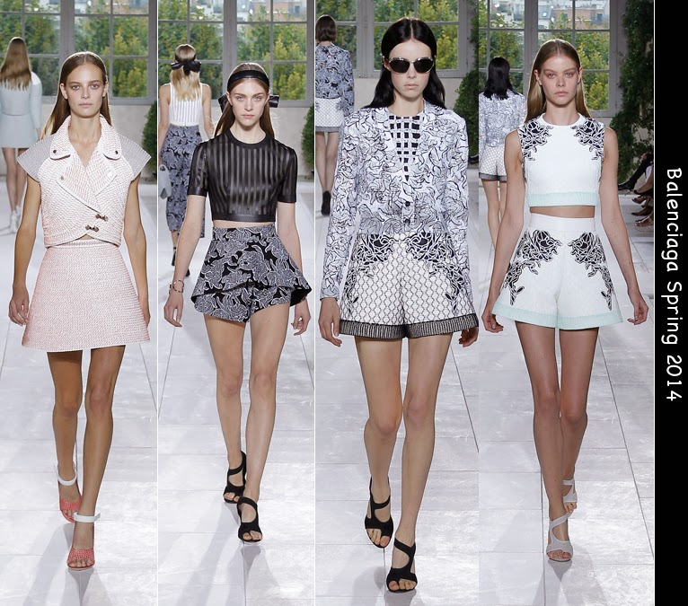 balenciaga spring 2014 collection