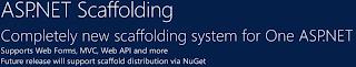 新整合的 Scaffolding 系統。