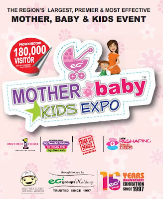 14 Sep 2013 Sat 16 Sep 2013 Mon Mother Baby Kids Expo