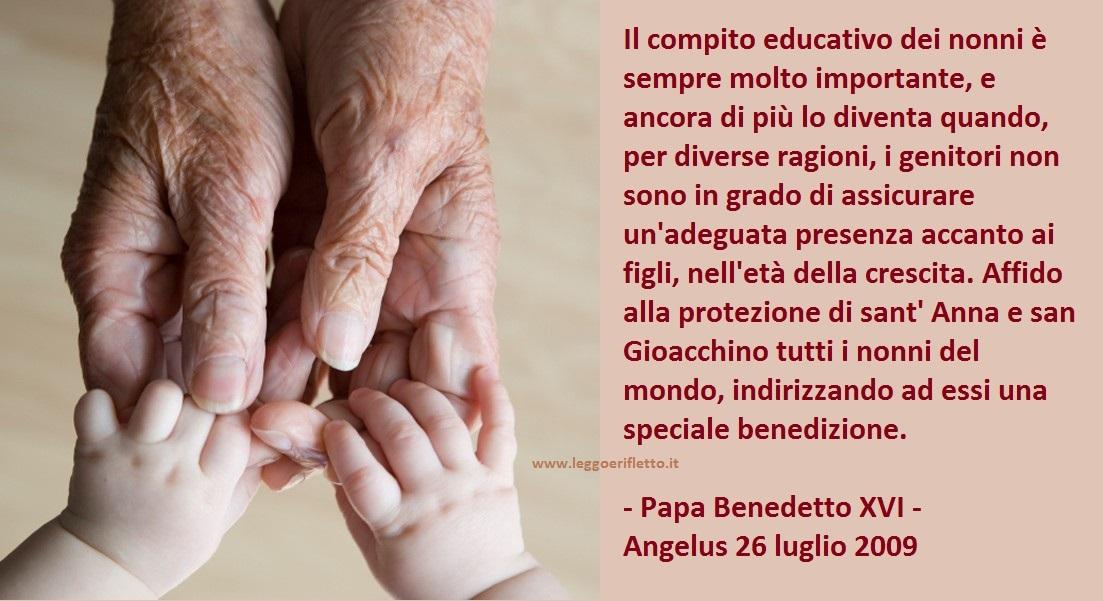 Estremamente leggoerifletto: Preghiera per i nonni - Don Arturo Bellini PU31