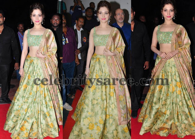 Tamannah at TSR Awards event