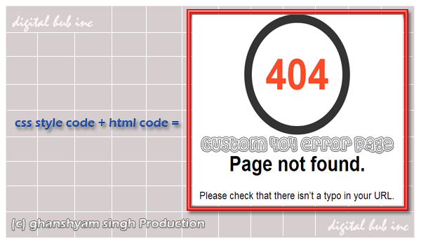 Thesis custom 404 page