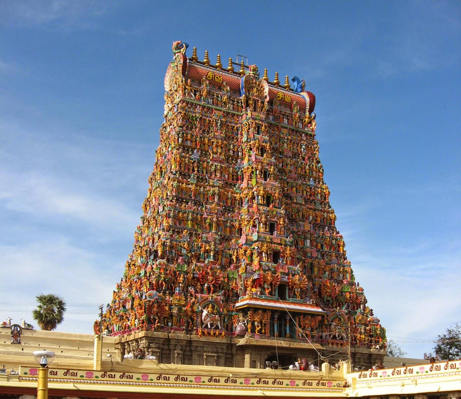 मीनाक्षी अम्मन मंदिर,  मदुरै (Meenakshi Temple, Madurai)मीनाक्षी अम्मन मंदिर,  मदुरै (Meenakshi Temple, Madurai)
