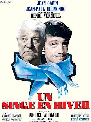 Affiche du film de Henry Verneuil : Un Singe en Hiver