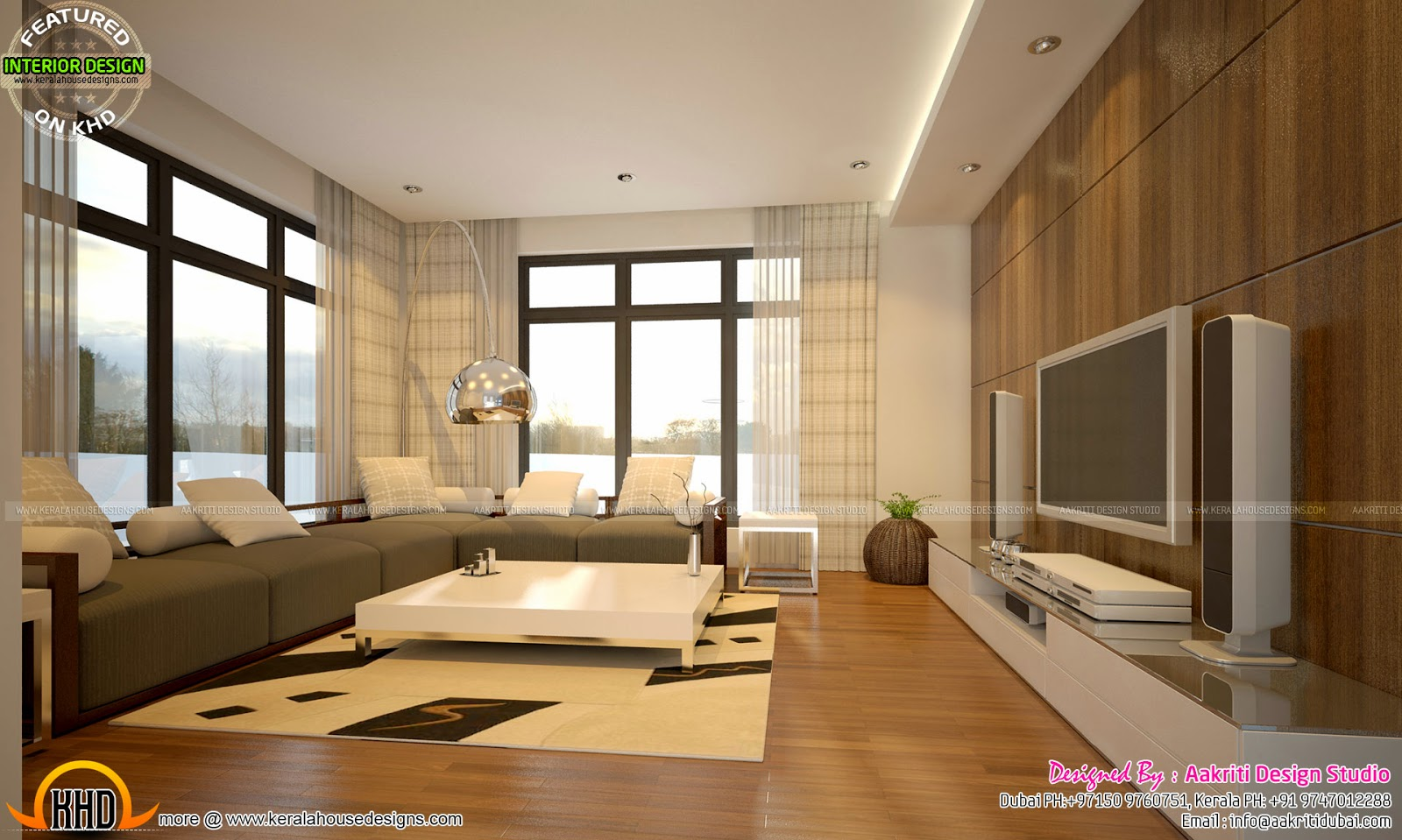 Home Interior Designs By Aakriti Design Studio Kerala Home Design And Floor