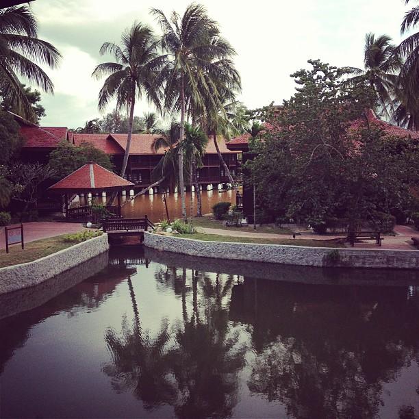 view from out room at meritus pelangi resort, langkawi, malaysia