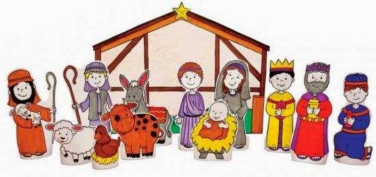 Piccola chiesa domestica presepi di carta - Fatti di gargoyle per bambini ...