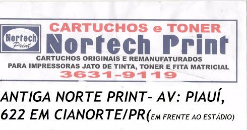 NORTE PRINT AGORA É NORTECH PRINT CARTUCHOS E RECARGAS