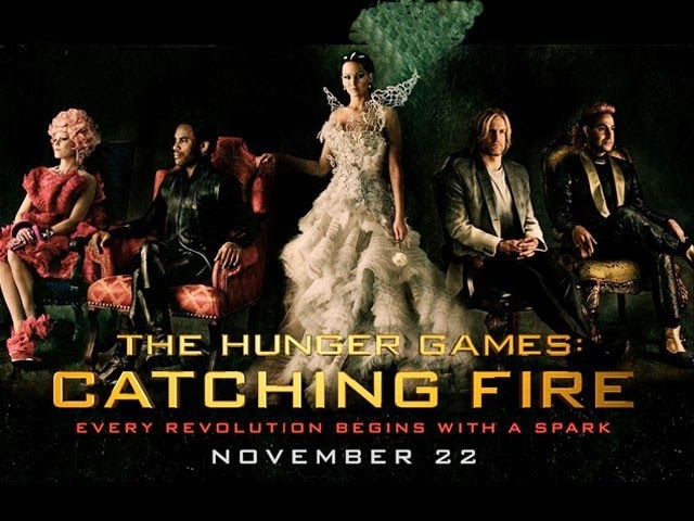 'Catching Fire' with The Hunger Games!