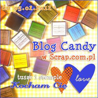 Tuszowo-stemplowe  Candy w Scrap.com.pl