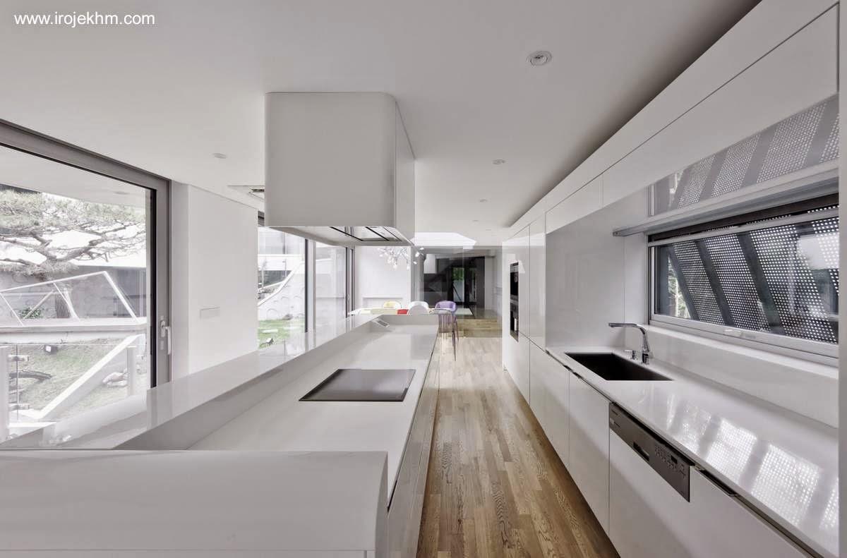 Arquitectura de Casas: Casa moderna y tradicional integrada al ...