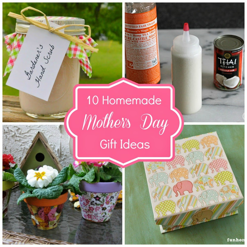 Homemade Mother 39 S Day Gift Ideas Fun Home Things