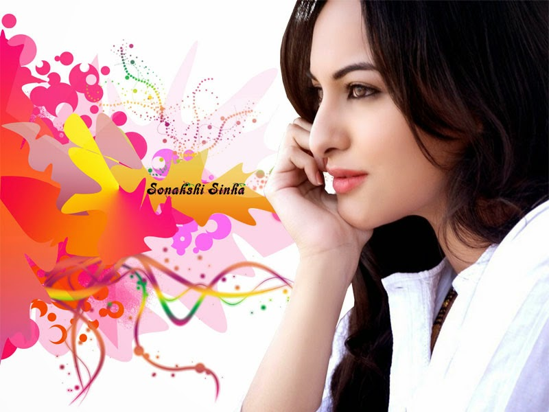 Bollywood Indian Actress Sonakshi Sinha Sexy in White HD Images