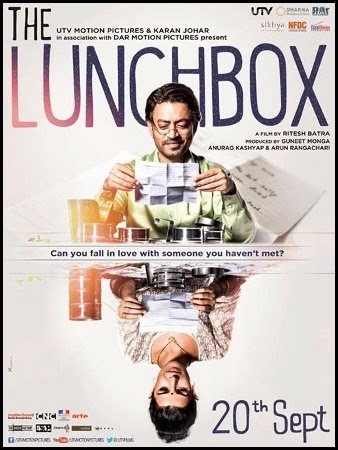 Póster de 'The lunchbox' (Ritesh Batra, 2013)