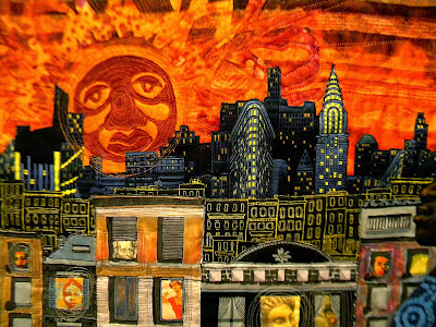 Harlem Memorabilia Reflections in Fiber