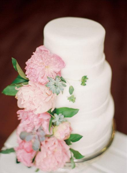 цветы на торте