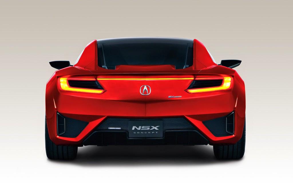 Top Super Luxury Cars: New Acura NSX 2015