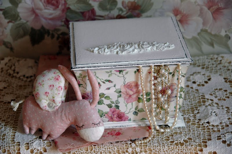 Шкатулка для девочки из коробки своими руками