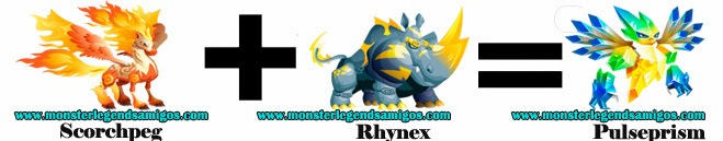 como obtener el monster pulseprism en monster legends formula 2