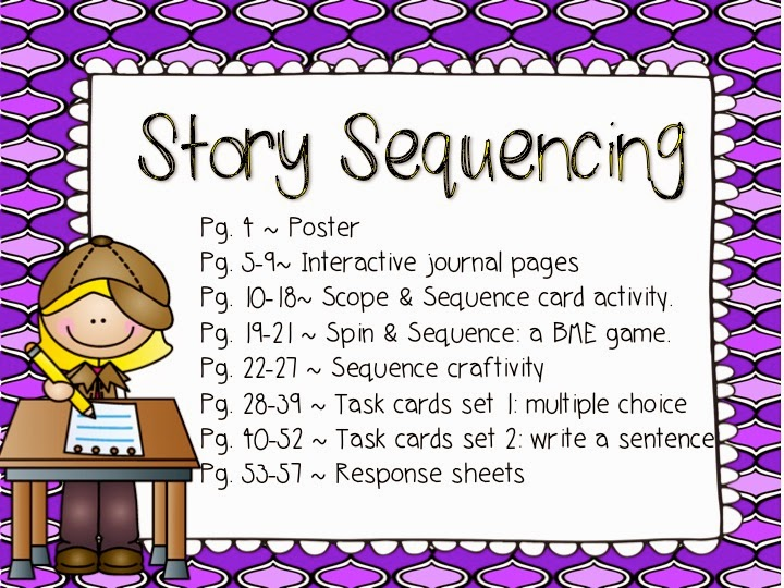 Reading Comprehension Detectives Story Sequencing Saddle up for – Sequencing Worksheets 2nd Grade